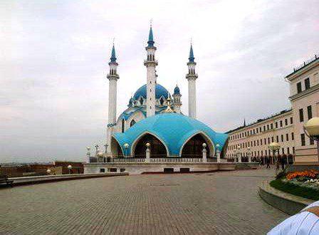 The Kremlin Mosque (Qul Sharif Musjid), Kazan, Russia