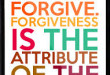 Why Forgive Others This Ramadan?