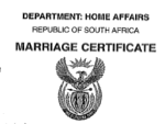 Marriage-certiciate