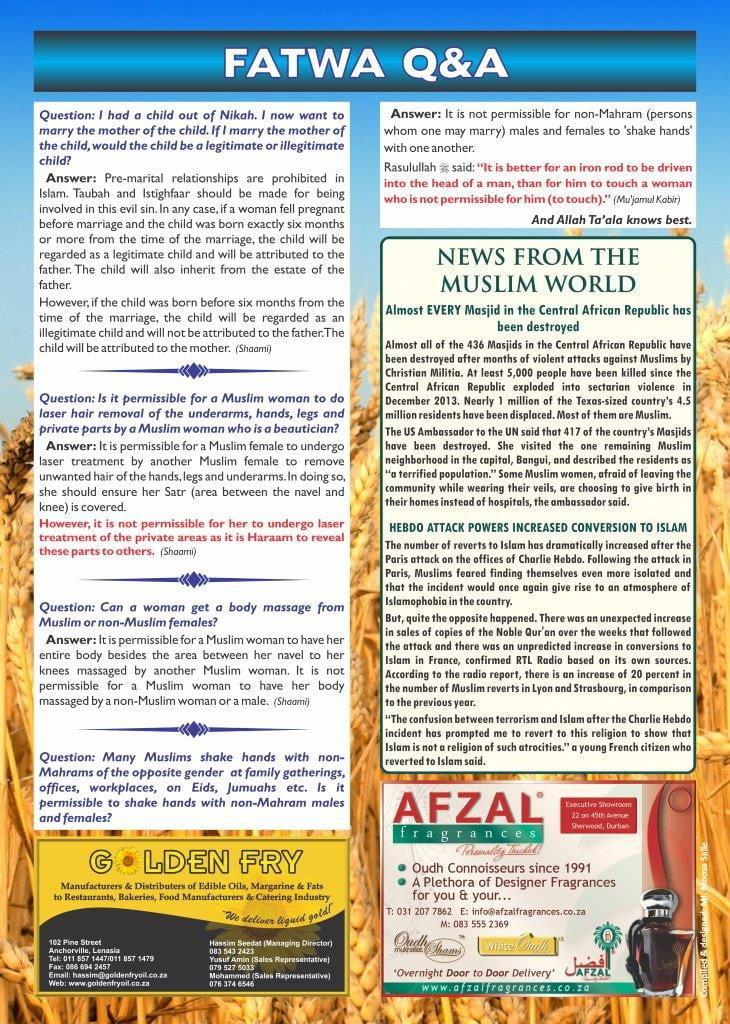 Al Jamiat Rajab 1436 page 4