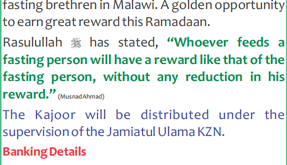 kajoor malawi