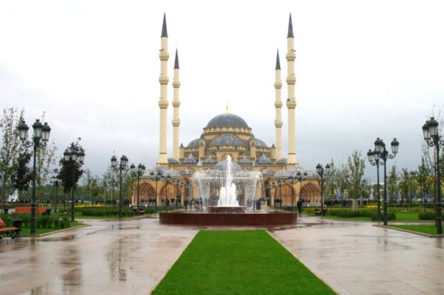 The Akhmad Kadyrov Mosque