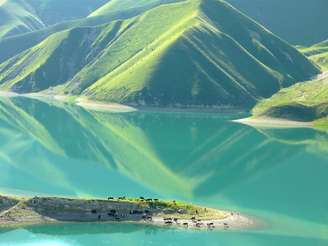 Lake Kezenoyam, Chechnya