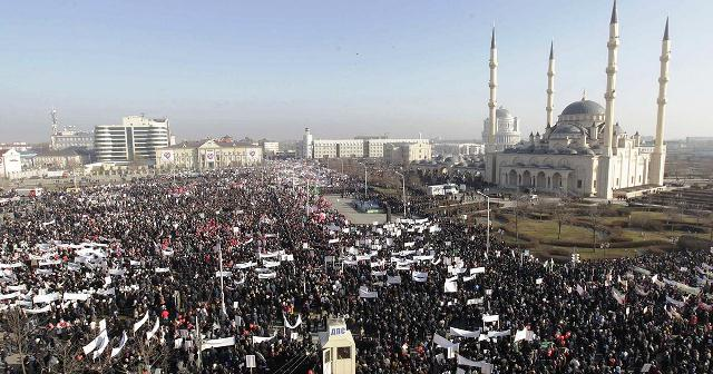 "Over a million people gathered for the ""Love for Prophet Mohammed"" demonstration"