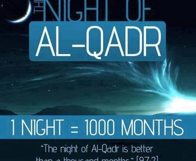 The Countdown Begins!!!…Ramadhan's Last Ten Nights and Days