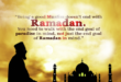 Ramadaan almost over…Now what???