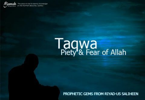 The Fruit of Taqwa