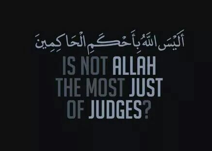 Only Allah Can Judge Me!