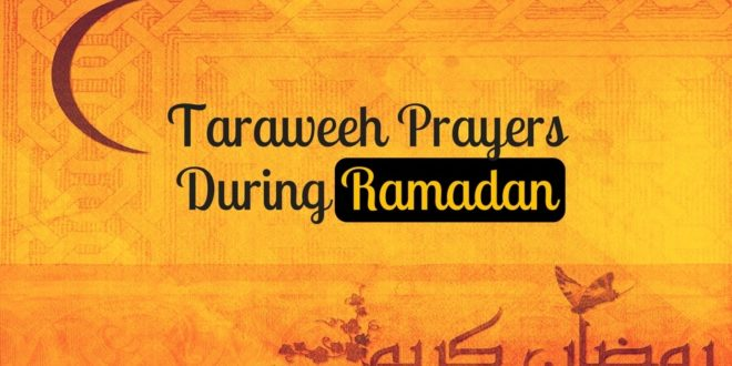 One intention for twenty Rakaats Taraweeh Salaah
