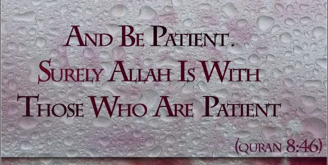 The Nabi of Patience